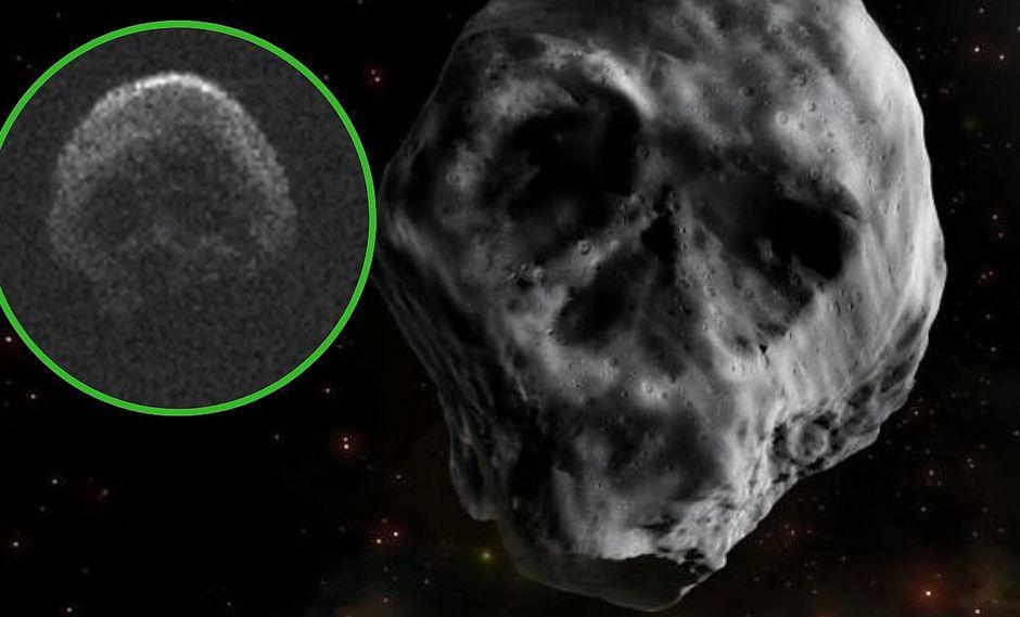 Un asteroide con forma de calavera pasará cerca a la Tierra luego de Halloween