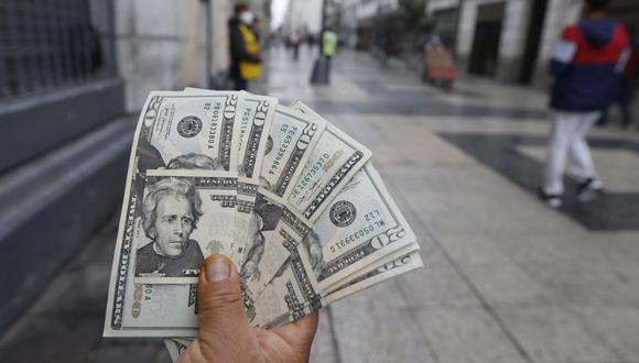 Dólar Tipo de cambio. (Foto: Violeta Ayasta / GEC)