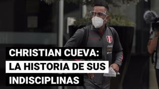 Selección peruana: Christian Cueva y sus constantes indisciplinas
