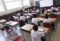 """Año escolar: """"En 2021 aspiramos al retorno de alumnos a las aulas"""", señala ministro de Educación"""