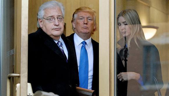 Presidente de la Autoridad Palestina lanza fuerte insulto contra el embajador de EEUU en Israel