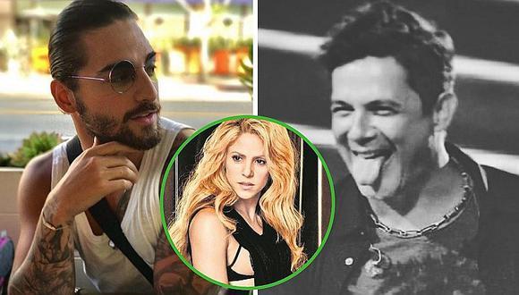 Alejandro Sanz saca cara por Shakira y deja en ridículo a Maluma (VÍDEO)