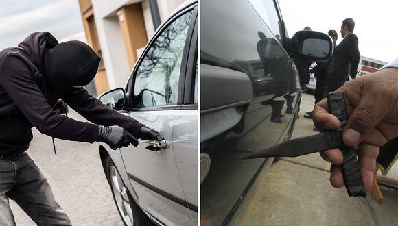 """Solo en enero robaron 668 autos en Lima y rateros rompen las chapas usando """"peinetas"""" (VIDEO)"""