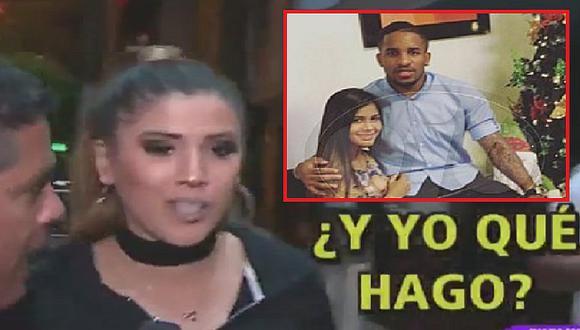 Yahaira Plasencia 'chotea' a reportero que le preguntó por viajecito de Jefferson Farfán