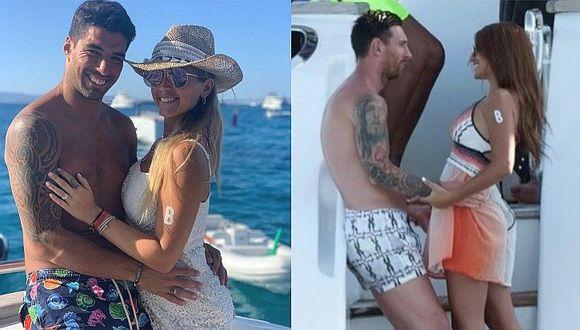 Lionel Messi y Luis Suárez se reúnen para vacacionar al lado de sus esposas │FOTOS