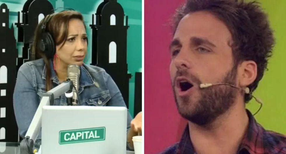 Mónica Cabrejos se defiende de Peluchín