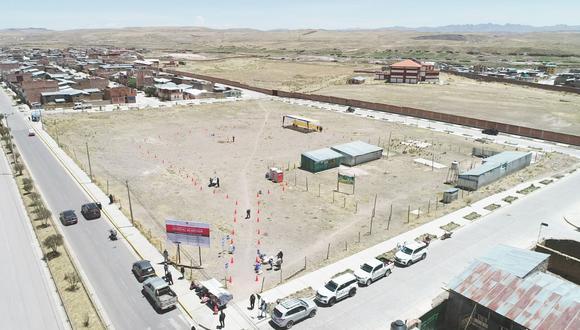 Cusco: entregan terreno para iniciar la construcción del Hospital de Espinar (Foto: Pronis).