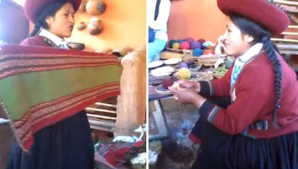 """""""La mejor vendedora del mundo"""": mujer cusqueña es la sensación de los turistas (VIDEO)"""