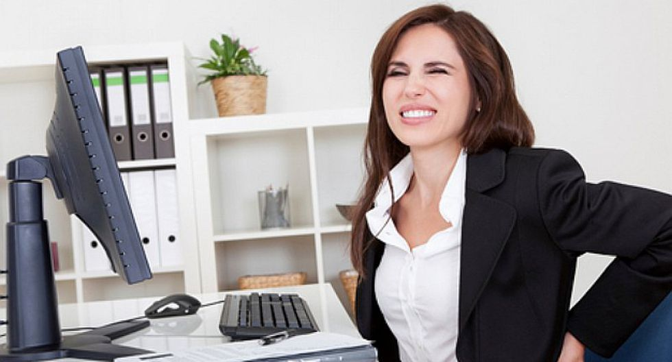 Consejos para evitar malas posturas en la oficina