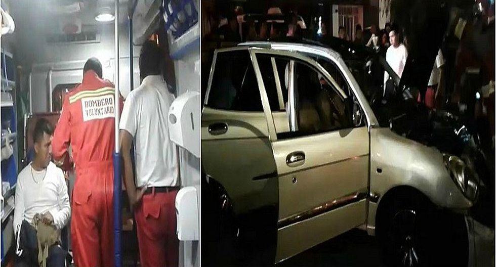 Jesús María: Conductor pierde el control y choca a otros dos vehículos (VIDEO)