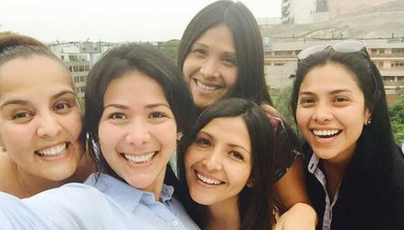 """""""¡No puedo creer que ya pasaron 15 años de Las Virgenes de la Cumbia! """", escribió Magdyel Ugaz en su cuenta de Instagram."""