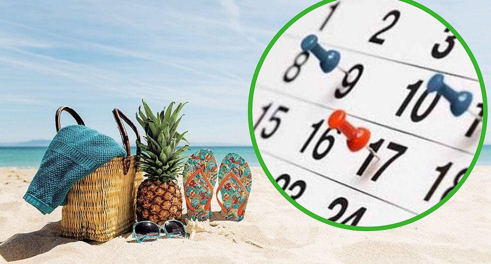Ministerio de Trabajo busca que no se cuenten los fines de semana como parte de las vacaciones