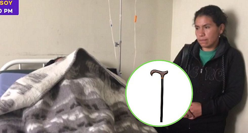 Profesor agrede en la cabeza a alumno con un bastón y menor termina en hospital   VIDEO