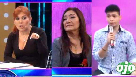 """Magaly Medina y Flor de Huaraz protagonizaron fuerte discusión en """"Magaly TV: La Firme"""". (Foto: Magaly TV: La Firme)."""