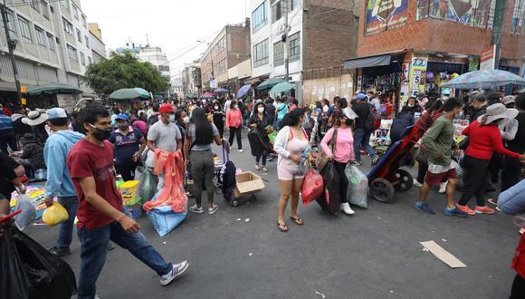 El Minsa indicó que este sábado aumentó la cifra de contagios por COVID-19. (Foto: Britanie Arroyo / @photo.gec)