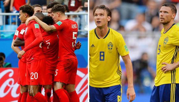 Inglaterra gana 2 a 0 a Suecia y son los terceros en pasar a semifinales (FOTOS)