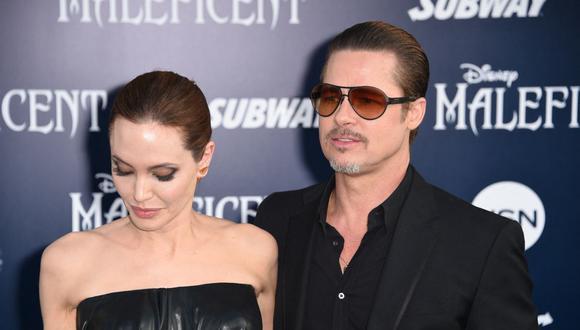 Angelina Jolie y Brad Pitt se casaron en e 2014 y anunciaron su divorcio dos años después. (Foto: Robyn Beck / AFP)
