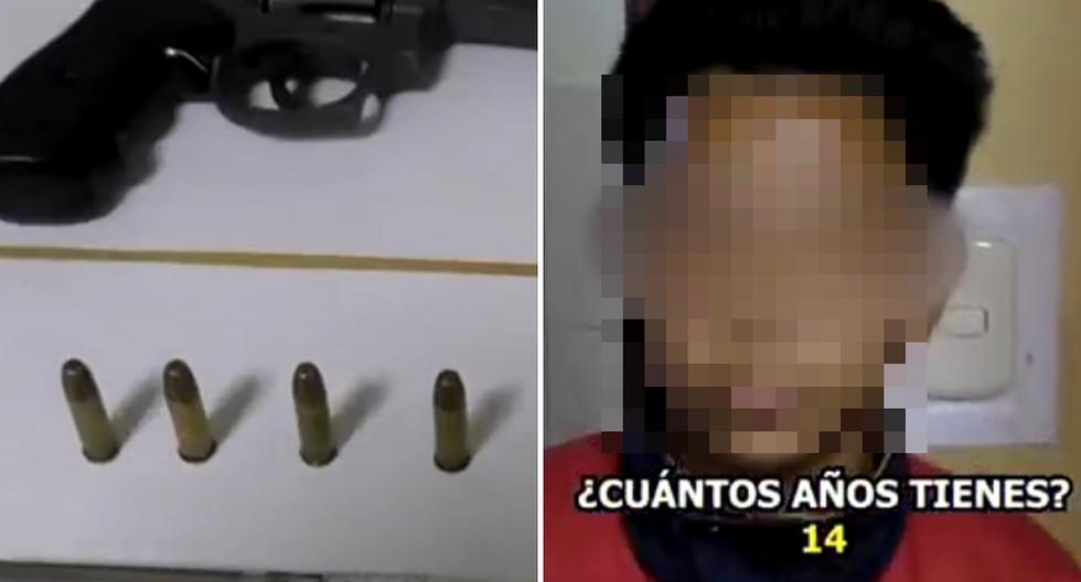 Callao: niño es detenido tras acudir al colegio con arma de fuego (VIDEO)