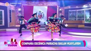 Tula Rodríguez baila huayno por el Bicentenario del Perú (VIDEO)