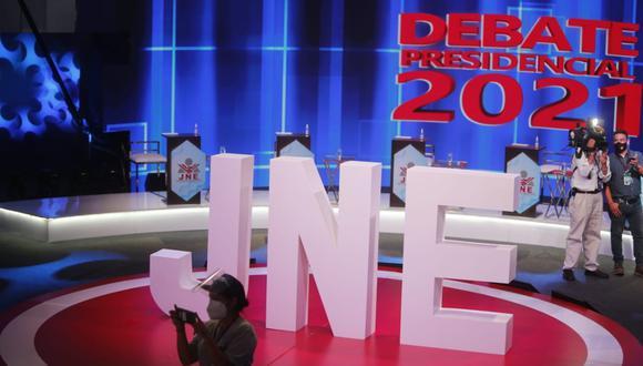Pedro Castillo y Keiko Fujimori participarán en un debate organizado por el JNE el 30 de mayo. (Foto: GEC)