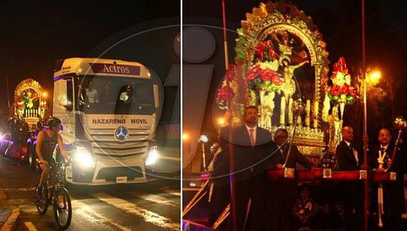 Papa Francisco en Perú: imagen del Señor de los Milagros es trasladada a Las Palmas (FOTOS)