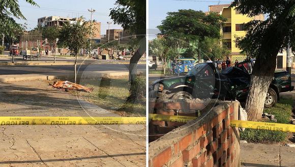 Camioneta se despista y deja tres muertos en avenida de San Martín de Porres (FOTOS)