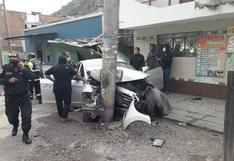 Matucana: Exgobernador de Cerro Pasco, Teódulo Quispe Huertas, murió en accidente de tránsito