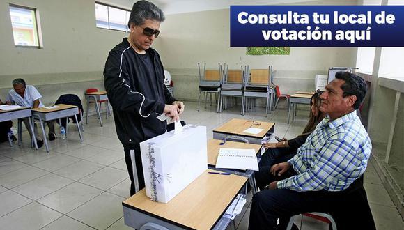 La ONPE dio a conocer dónde votar en las elecciones 2016 (Foto: USI)