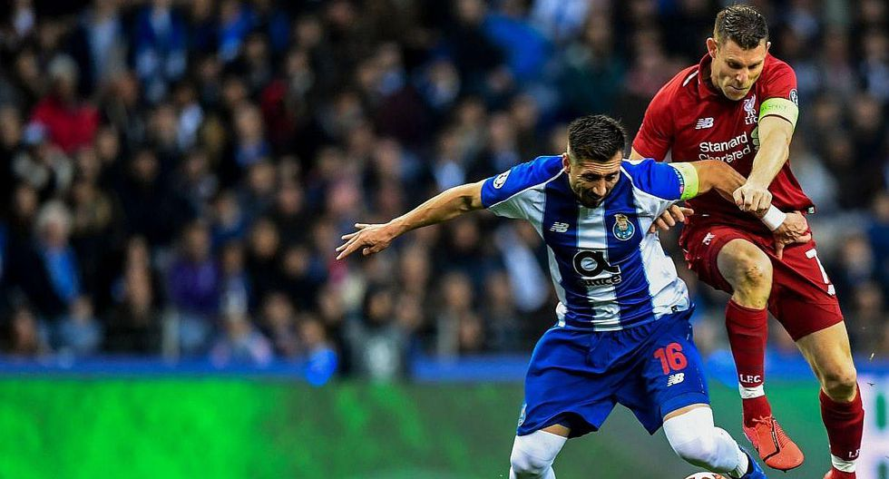 Liverpool aplasta al Oporto y llega a la semifinal de la Champions