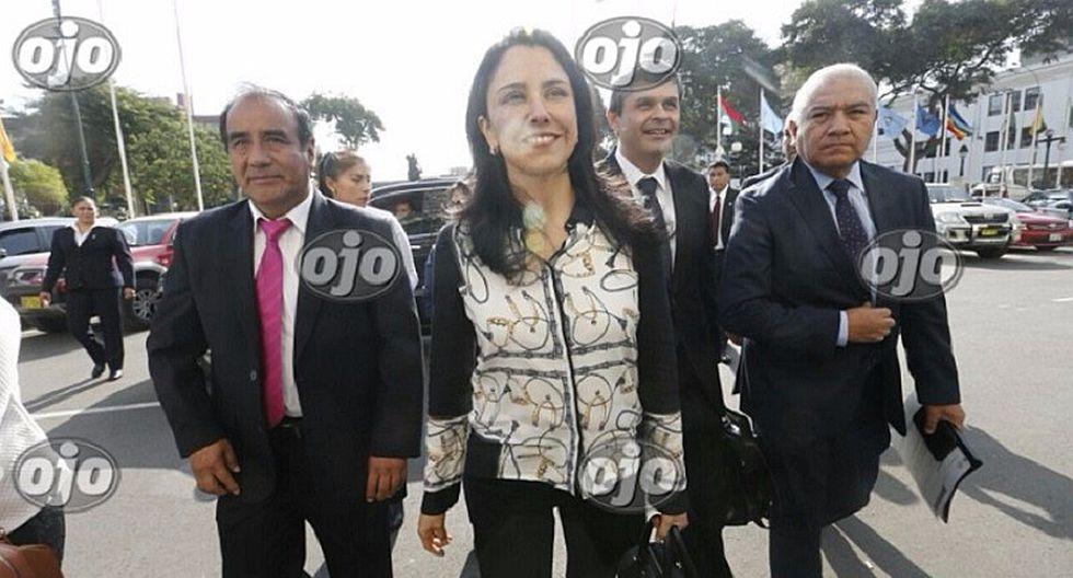 Nadine Heredia se niega a responder a comisión Lava Jato (VIDEO)