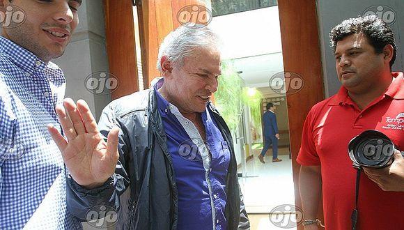 """Luis Castañeda: """"Me imputan el accidente (en el cerro San Cristóbal) como si yo fuera el chofer"""""""