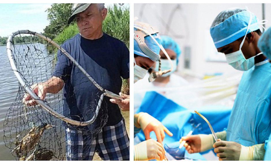 Hombre adquiere bacteria al pescar y puede perder sus extremidades (FOTOS)