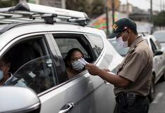 Gobierno dispone inmovilización social y restricción vehicular los días domingo en Lima y Callao hasta el 9 de mayo