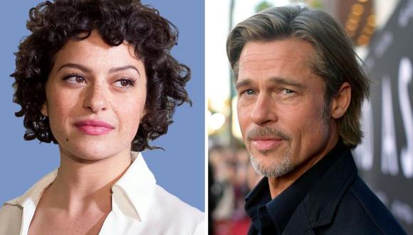 Brad Pitt y Alia Shawkat