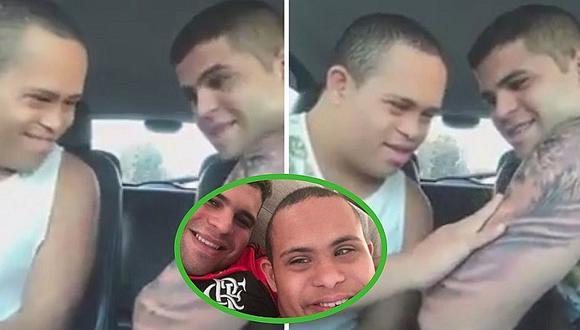La emotiva reacción de un niño con Síndrome de Down al ver el tatuaje de su hermano mayor (VÍDEO)