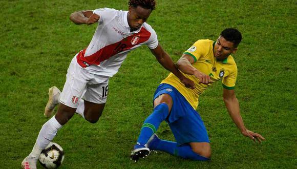 Casemiro comentó sobre el partido entre Perú y Brasil en las Eliminatorias. (Foto: AFP)