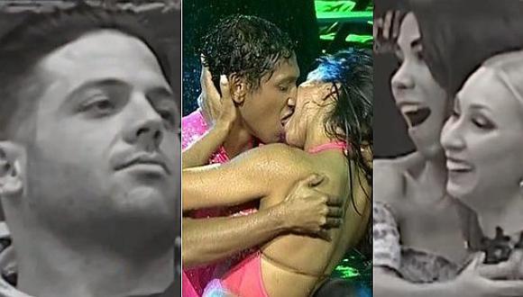 El Gran Show: Karen Dejo se besa con Waldir Felipa y Belén Estévez reacciona así (VIDEO)