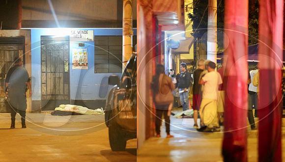 Callao: hombre es asesinado en plena vía pública en un aparente ajuste de cuentas (FOTOS)