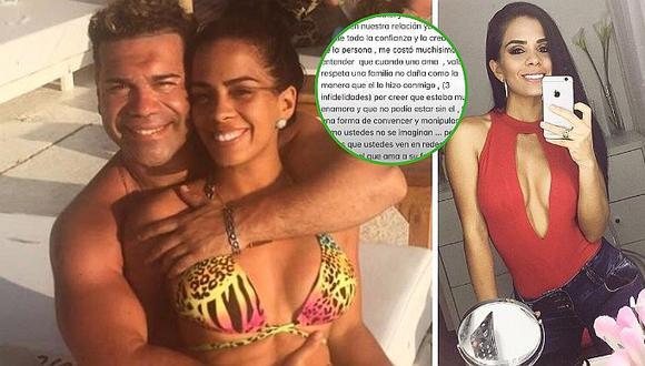 """Vanessa López desmiente a Tomate Barraza tras separación: """"Fue infiel"""""""