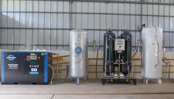 Puno: región se alista para poner a funcionar nueva planta de oxígeno del hospital Manuel Núñez (Foto: Gore Puno)