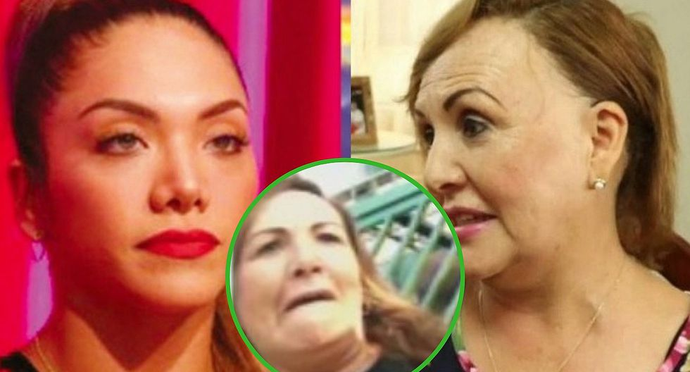 Mamá de Isabel Acevedo es acusada de agredir físicamente a vecinas en plena calle (FOTOS)