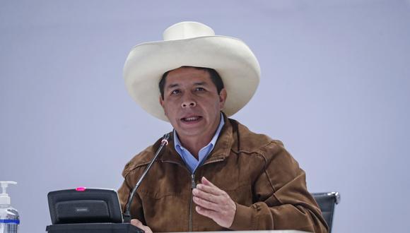 Pedro Castillo aseguró que agotarán las vías de diálogo para que el gas llegue a todo el Perú. (Foto archivo Flirck Presidencia)