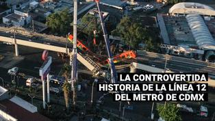 Accidente en la línea 12 del metro en México: Sepa cuál es la historia de esta controvertida obra