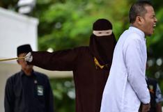 Hombre escribió ley contra adulterio y es azotado al ser descubierto siendo infiel | VIDEO