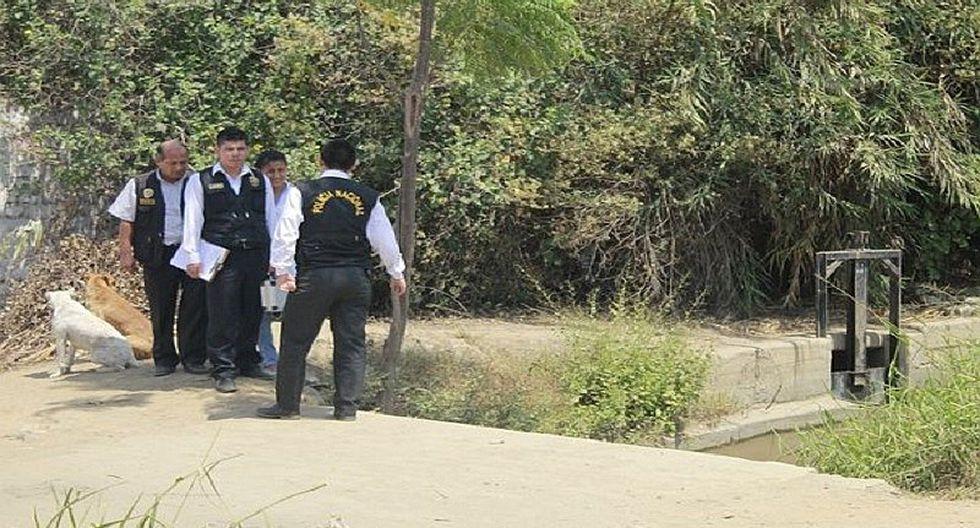 Huaral: Hombre sin vida es hallado en canal de regadío