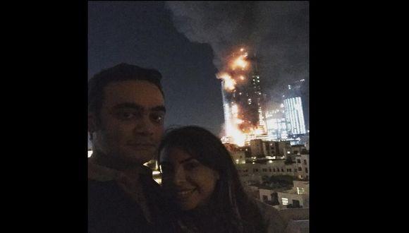 Desatinado selfie tomado en Dubai es criticado por miles de usuarios