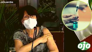 """Pilar Mazzetti no se corre de la vacuna china contra el Covid-19: """"Yo pongo el hombro, sin dudarlo"""""""