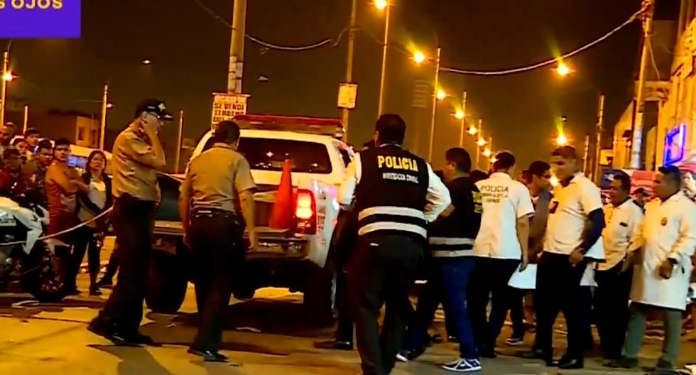 San Martín de Porres: policía abate a delincuente que le arrebató su mochila | Latina