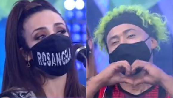 """Rosángela Espinoza y 'Zumba' se reencuentran en """"Esto es guerra"""". (Video: América TV)"""