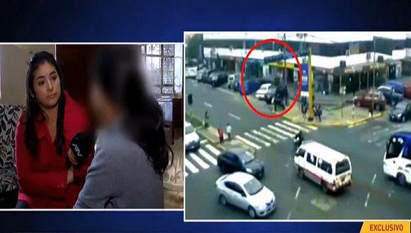 Hablan dos de las escolares atropelladas por profesora en Miraflores | VIDEO